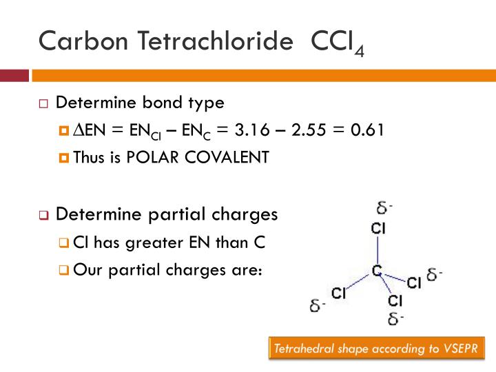 Carbon Tetrachloride  CCl