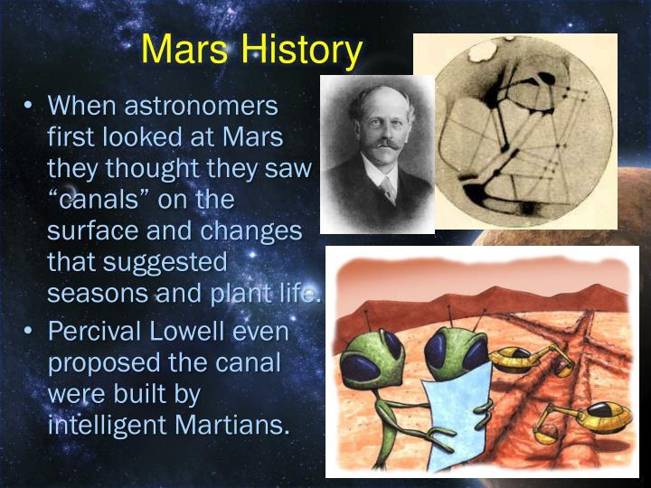 Mars History