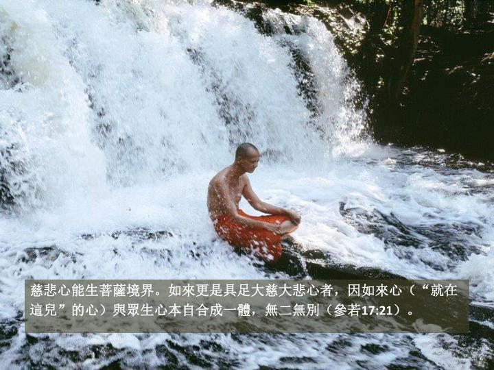 """慈悲心能生菩薩境界。如來更是具足大慈大悲心者,因如來心(""""就在"""