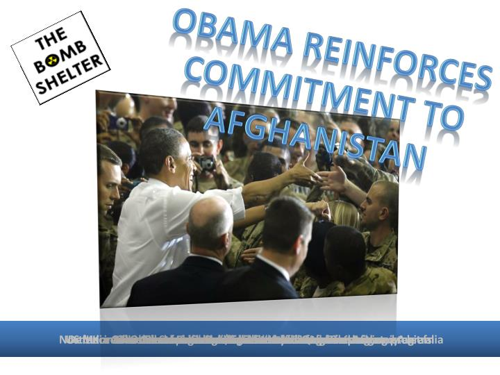 Obama reinforces commitment to