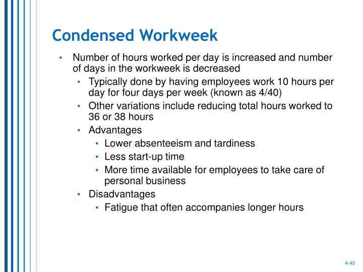 Condensed Workweek