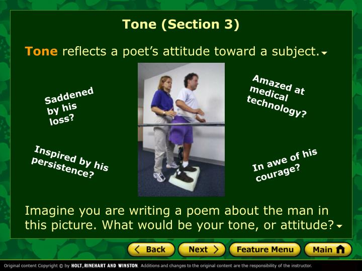 Tone (Section 3)
