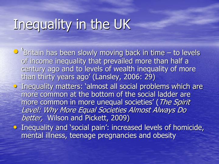 Inequality in the UK