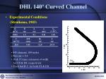 dhl 140 curved channel