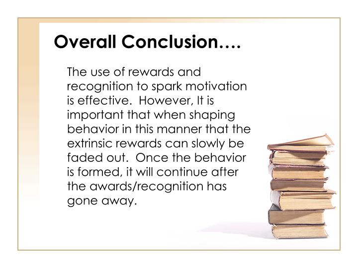 Overall Conclusion….