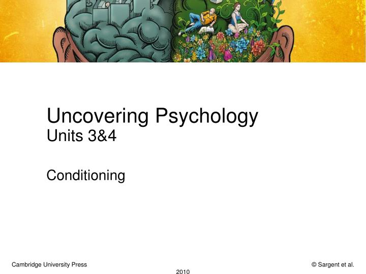 Uncovering psychology units 3 4