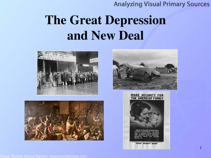 a report on the great depression in american history