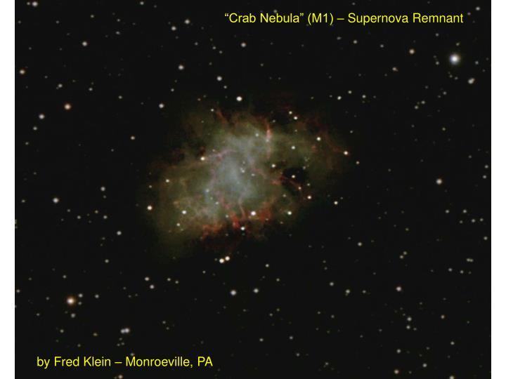"""Crab Nebula"" (M1) – Supernova Remnant"