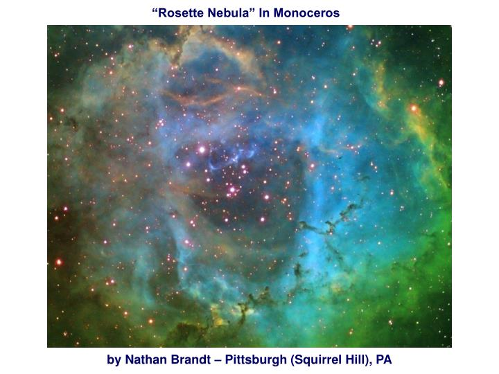 """Rosette Nebula"" In Monoceros"