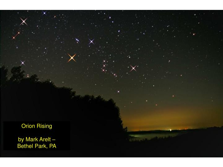 Orion Rising