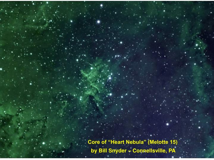 "Core of ""Heart Nebula"" (Melotte 15)"