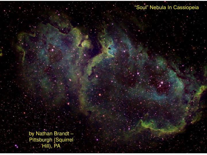 """""""Soul"""" Nebula In Cassiopeia"""