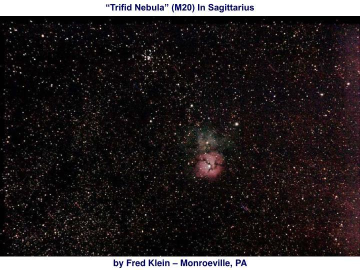 """""""Trifid Nebula"""" (M20) In Sagittarius"""