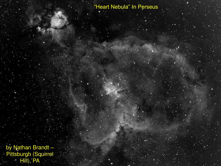 """Heart Nebula"" In Perseus"