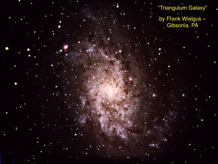 """Triangulum Galaxy"""