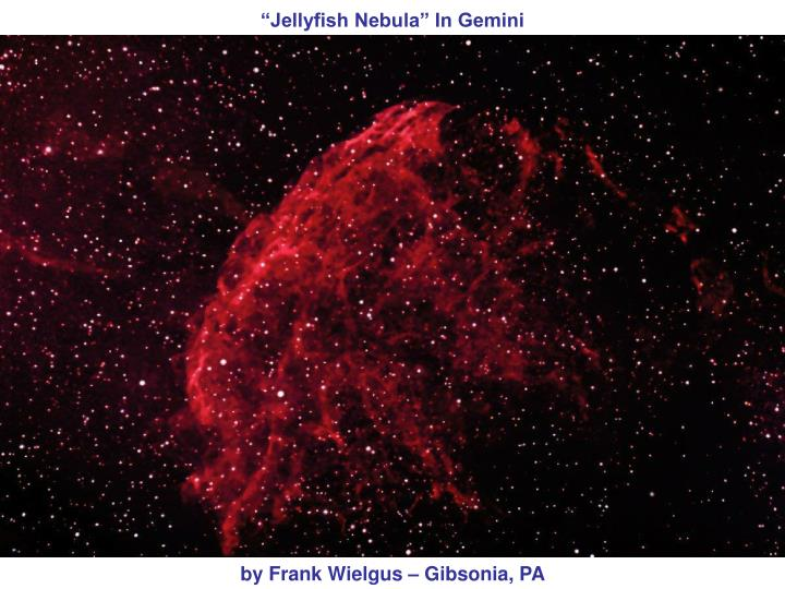 """Jellyfish Nebula"" In Gemini"
