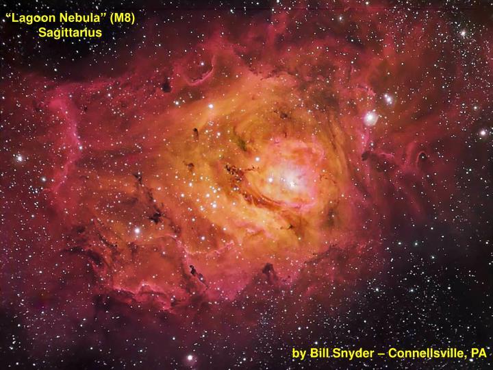 """""""Lagoon Nebula"""" (M8)"""