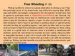 free wheeling p 39