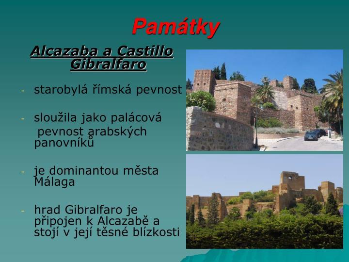 Alcazaba a Castillo Gibralfaro