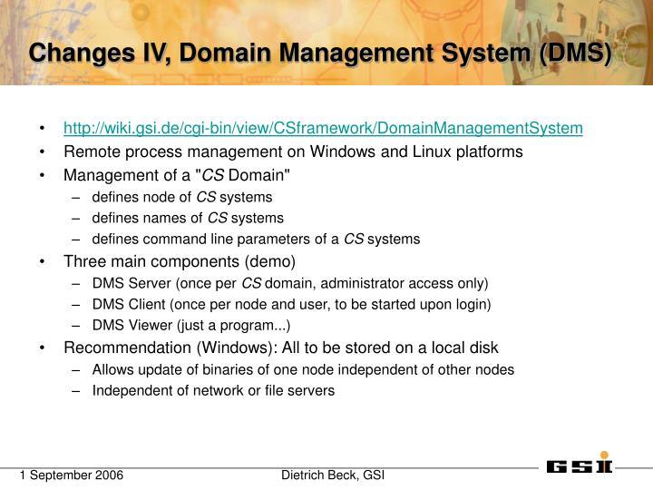 http://wiki.gsi.de/cgi-bin/view/CSframework/DomainManagementSystem