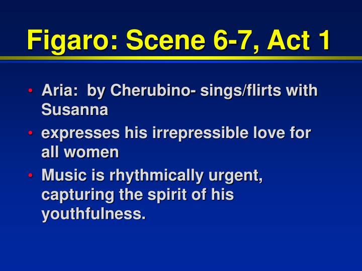 Figaro: Scene 6-7, Act 1