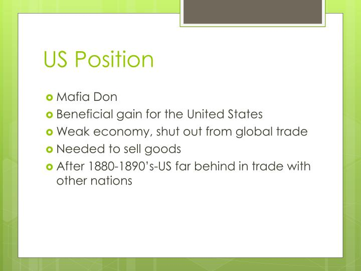 US Position