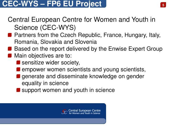 CEC-WYS – FP6 EU Project