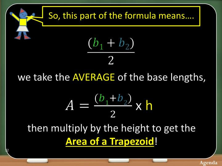 So, this part of the formula means….