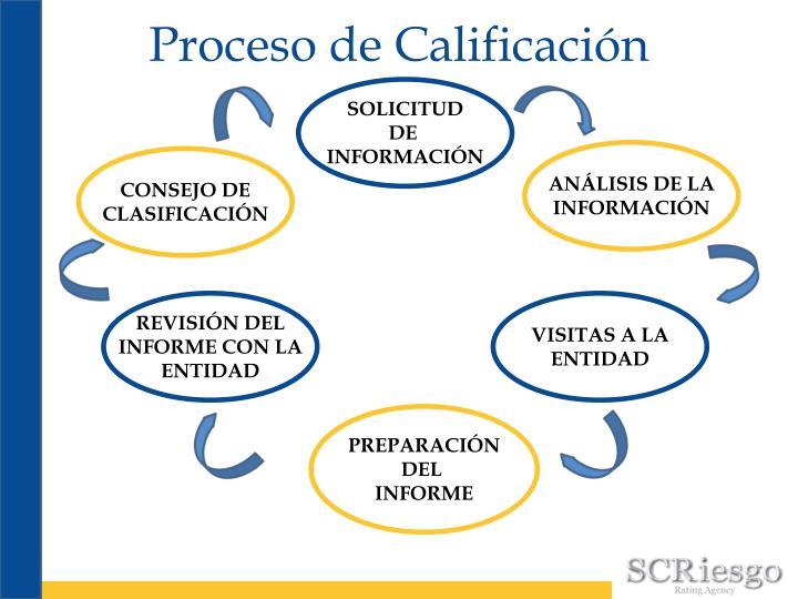 Proceso de Calificación
