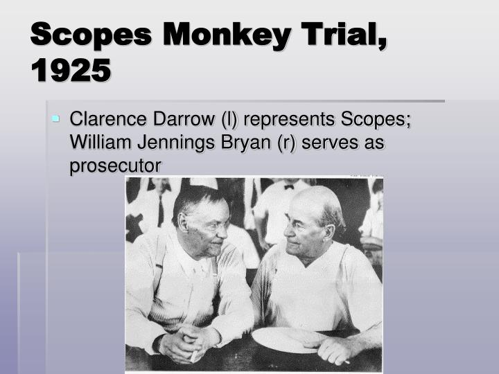 essay on scopes monkey trial Scopes trial: 5 day lesson overview: students consider the historical context that framed and stirred public interest in the scopes trial they watch a short introductory movie, read eight documents, answer guiding questions, and prepare to complete the final essay assignment using their notes.