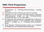 mmc third program me