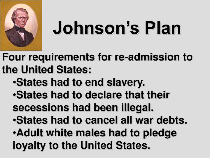 Johnson's Plan
