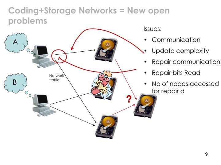 Coding+Storage