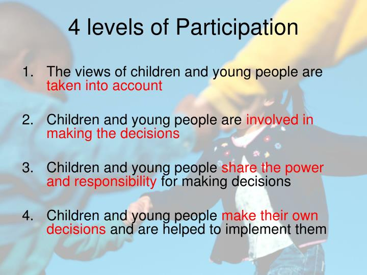 The views of children and young people are