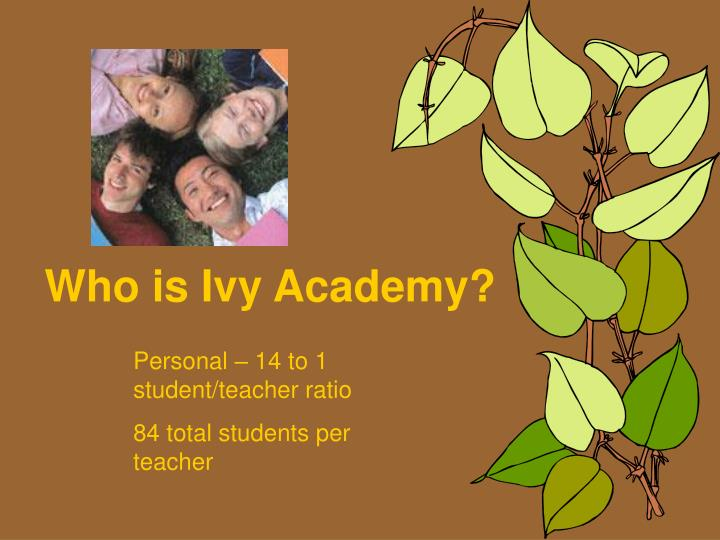 Who is Ivy Academy?
