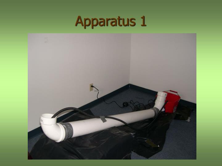 Apparatus 1