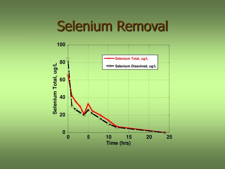 Selenium Removal