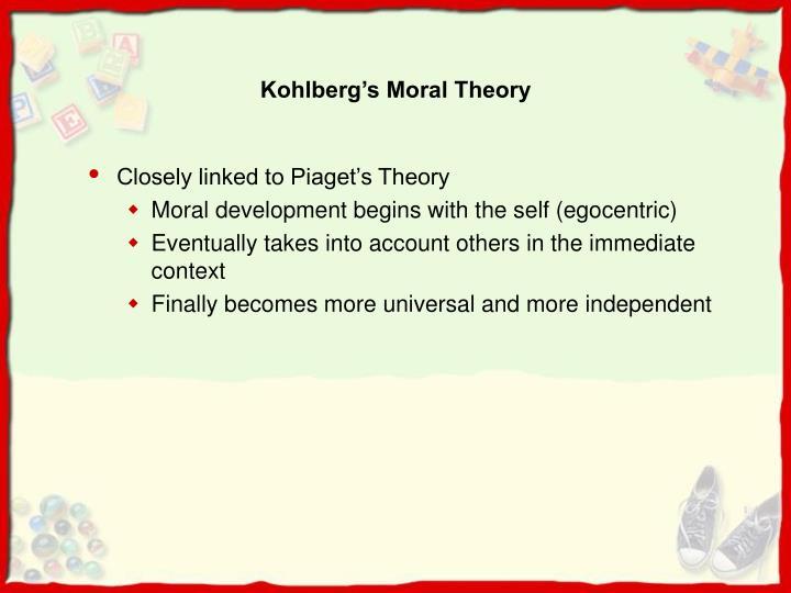 Kohlberg's Moral Theory