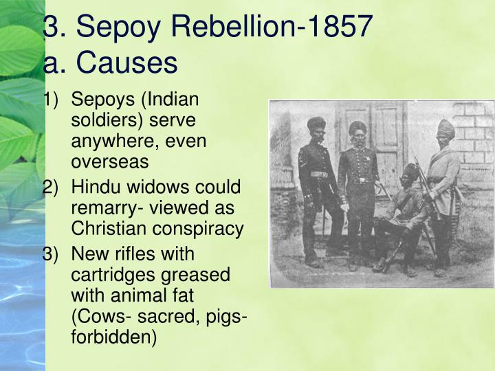 3. Sepoy Rebellion-1857