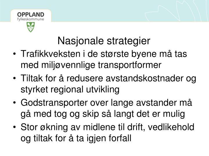 Nasjonale strategier