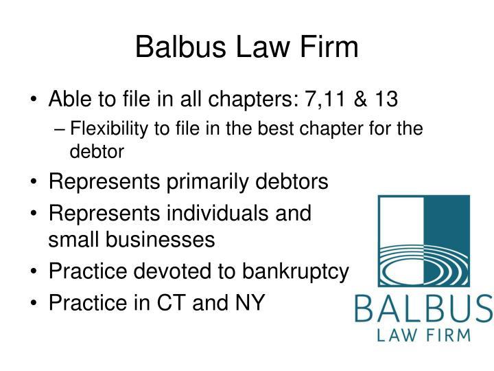 Balbus Law Firm