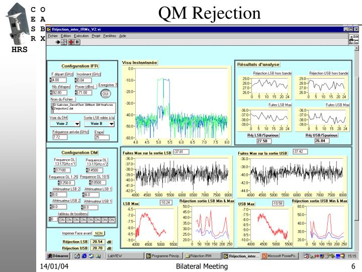 QM Rejection