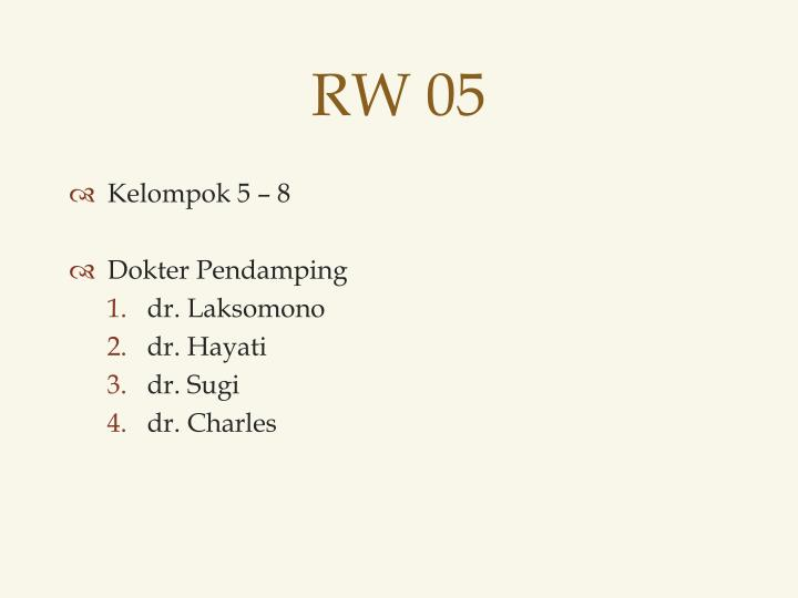 RW 05