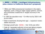 1 bwrc citris intelligent infrastructures also relates to california governor s proposal