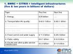 1 bwrc citris intelligent infrastructures five ten years in billions of dollars