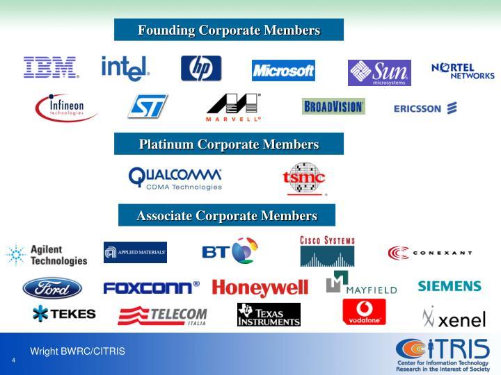 Founding Corporate Members