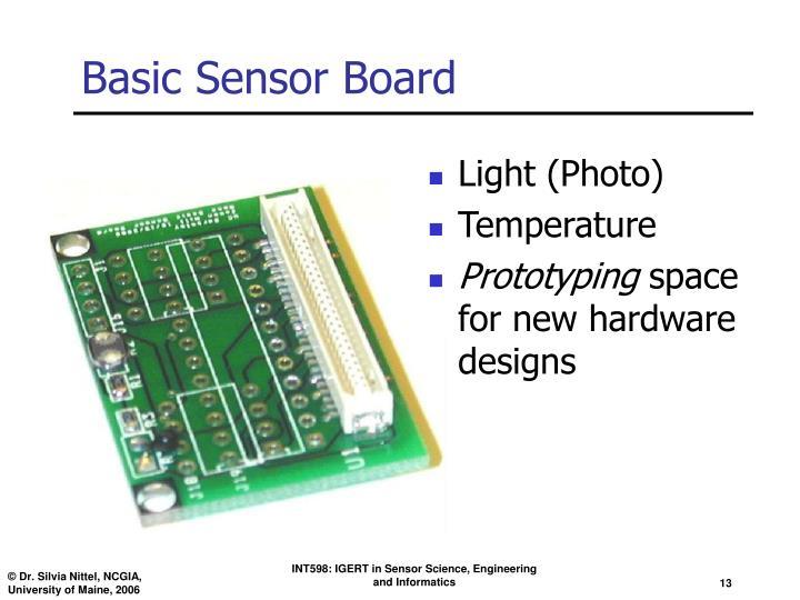 Basic Sensor Board