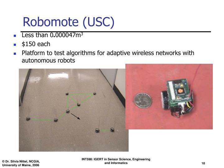 Robomote (USC)
