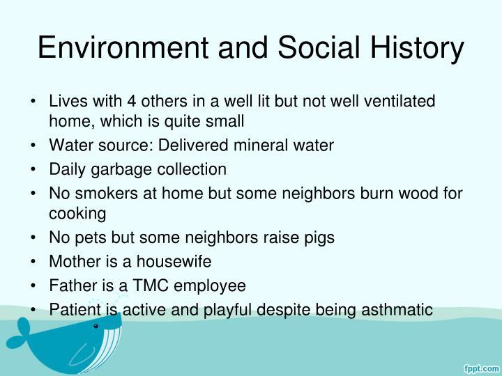 Environment and Social History
