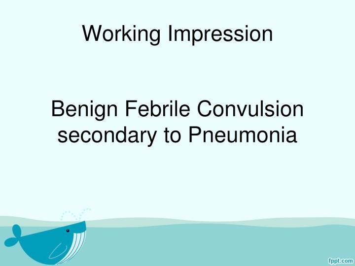 Working Impression